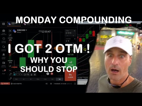 Live Compound session with explanations. Binary Option Trading