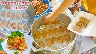 Em gái làm Bánh Xếp Nhân Thịt cực siêu trong hẻm ở Sài Gòn