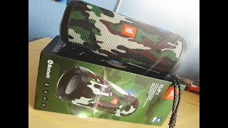 JBL Flip 4 Camouflage Unboxing