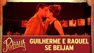 Guilherme e Raquel se beijam | As Aventuras de Poliana