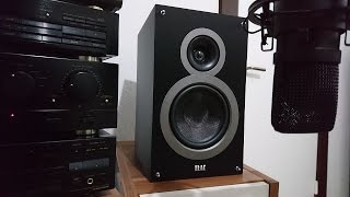bookshelf speaker test - Elac b6