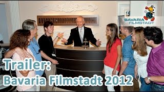 Bavaria Filmstadt Imagetrailer (2012) -- Filmstadt Führung, Bullyversum, 4 D Erlebniskino