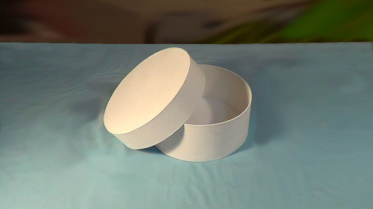 a590d88321 Caixa redonda - PARTE1 / Round Box - PART1 - YouTube