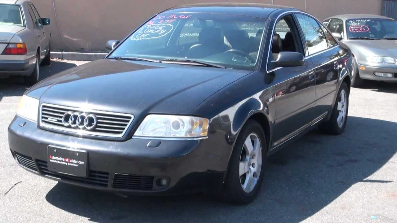 Audi A T Quattro Speed Sedan YouTube - 2000 audi a6
