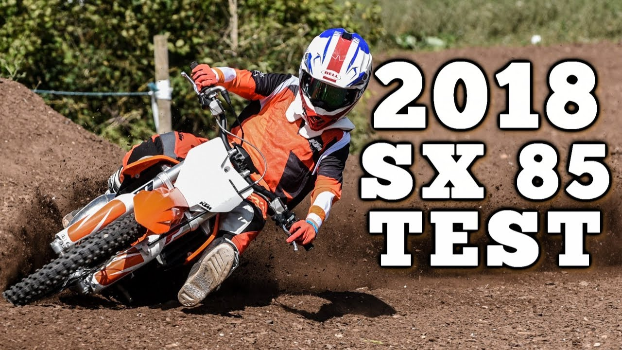 2018 ktm 85 big wheel. brilliant ktm young guns test 2018 ktm 85 sx on ktm big wheel