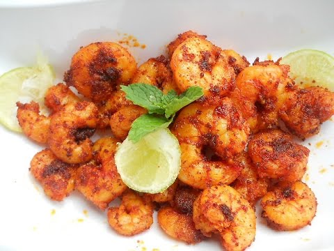 Dry Prawn Masala Indian Recipe Indian | Spicy Masala Dry Prawns Recipe Sukka