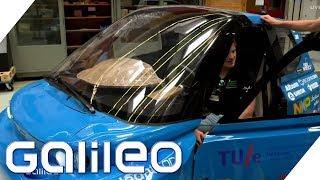 Recycling-Projekt: Dieses Auto besteht aus Zucker | Galileo | ProSieben