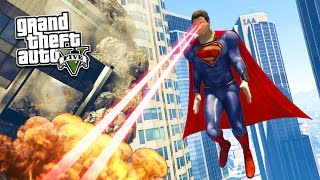 GTA 5 PC Mods - ULTRA REALISTIC SUPERMAN MOD! GTA 5 Superman Mod Gameplay! (GTA 5 Mod Gameplay)