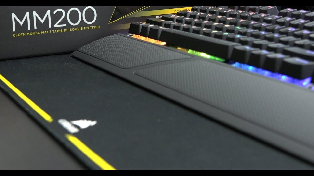 Corsair Mm200 Extended Edition Review Youtube