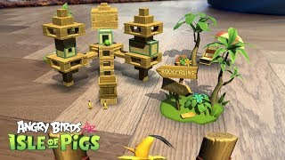 ANGRY BIRDS AR - ISLE OF PIGS (Android/Ios) Gameplay