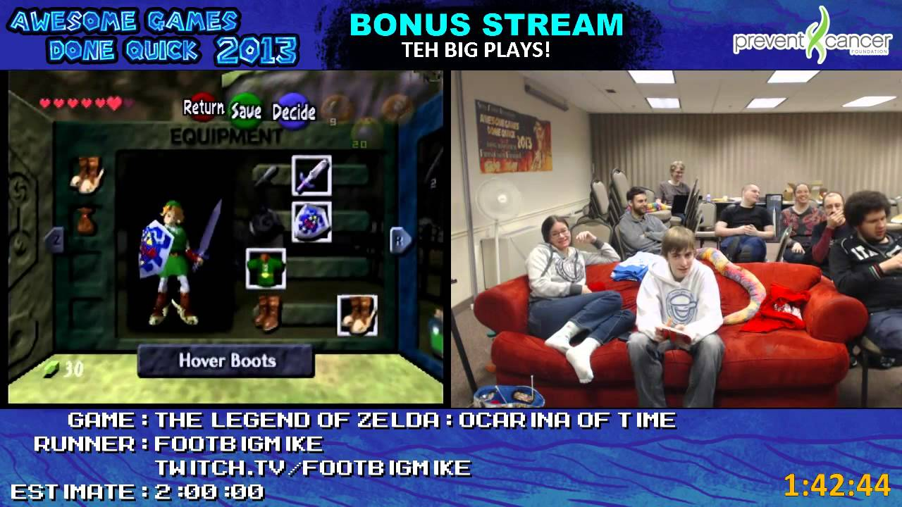 Awesome Games Done Quick 2013 Bonus Stream Part 24 The
