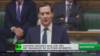 """Osborne's new role is conflict of interest"" - Labour MP"