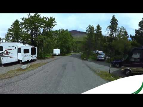 Many Glacier Campground Glacier National Park 360 Video Virtual Reality