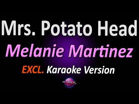 MRS. POTATO HEAD (Karaoke Version) - Melanie Martinez