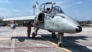 Italian AMX Fighter-Bombers At Air Exercise In Greece