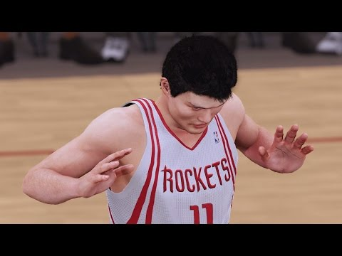 NBA 2K16 PS4 Play Now - Yao Ming T-Mac 08 Rockets Rage!