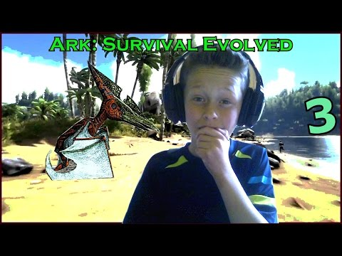 """EEN BABY VOGEL"" ?! - Ark: Survival evolved #3 [Nederlandse Gameplay]"