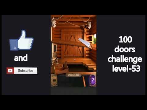 100 Doors Challenge Level 53 Vyzov 100 Dverej 53 Uroven Youtube