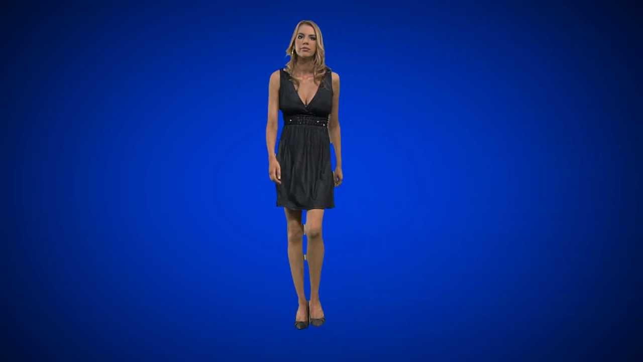 Mujer caminando - YouTube