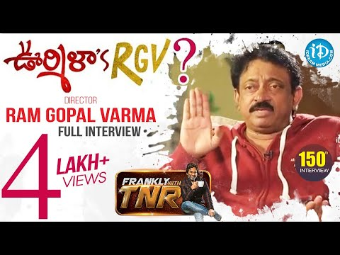 RGV On Frankly With TNR 150th Full Episode - Exclusive Interview || #LakshmisNTR