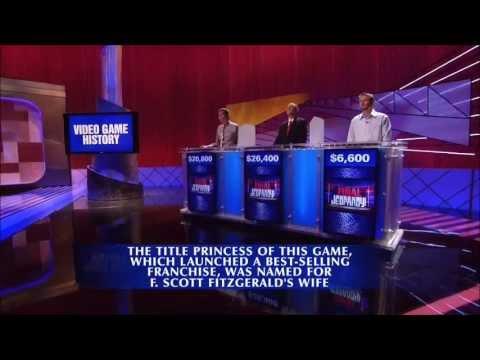 Final Jeopardy: Double Zelda Fail