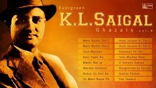 K l saigal hits vol-6 | ghalib | top 16 ghazals of k l saigal | urdu ghazals | punjabi ghazals