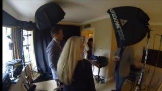 David Duchovny y Gillian Anderson Shoot.