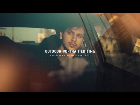 OUTDOOR PORTRAIT EDITING | PHOTOSHOP & LIGHTROOM TUTORIAL thumbnail
