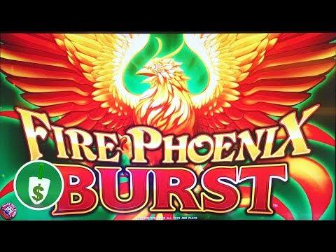 ⭐️ NEW -  Fire Phoenix Burst slot machine, bonus