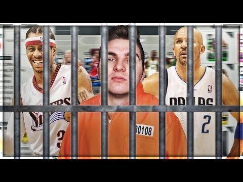 THE NBA ALL CRIME TEAM! NBA 2K17 CRIMINALS SQUAD BUILDER