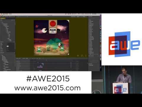 Connel Gauld - Zappar Studio Tutorial at AWE 2015