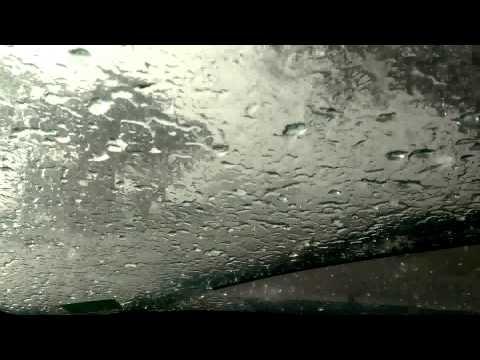 Big Palmdale, California Hail/Rain Storm 10/15/2015