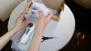 Ультразвуковой #массажер для лица и тела / Покупки с AliExpress / #Ультразвуковая чистка дома