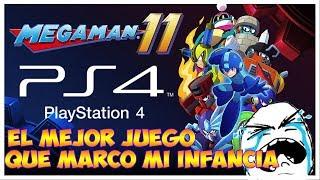 Juego GRATIS Para PS4  **** MEGA MAN 11 DEMO **** Mi Infancia En Un Videojuego