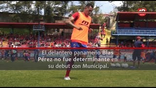 Intermitente debut de Blas Pérez   Prensa Libre