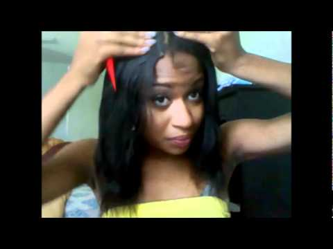 how to style hair weave youtube