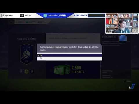 JUSTEES TROVA ICON E TOTY NELLO STESSO PACK IN LIVE - FIFA 18