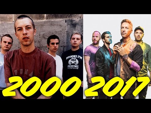 The Evolution of Coldplay (2000-2017)