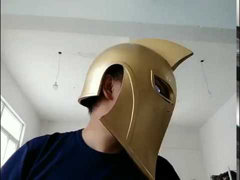 Dr Fate Helmet With Light up Eyes