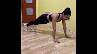 10 минут для подтяжки всего тела Домашние тренировки Фитнес для женщин Комплекс для начинающих