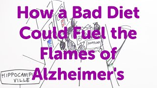 Minute Lectures: How a Bad Diet Could Fuel the Flames of Alzheimer's