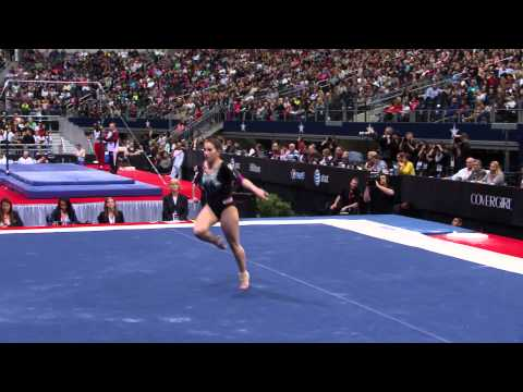 Erika Fasana - Floor Exercise - 2015 AT&T American Cup - NBC