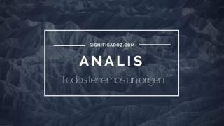 ANALIS - Significado del nombre Analis ♥