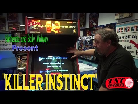 #841 Nintendo Midway KILLER INSTINCT Arcade Video Game Fighting Classic! TNT Amusements