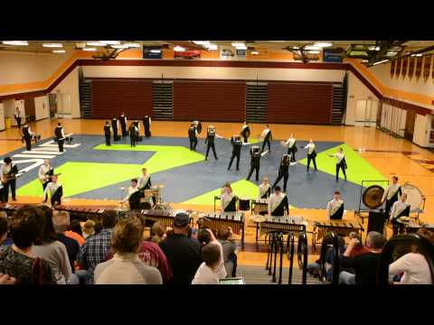 Westerville Indoor Percussion 4/8/15 Performance at WNHS