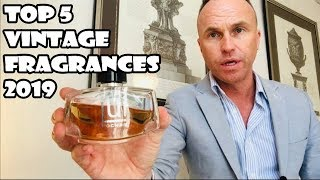 Top 5 Vintage and Discontinued Fragrances 2019