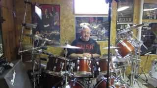 Neil Peart Rush Drum Set - How To Build Your Own Set