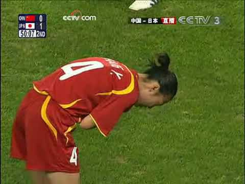 [2008-08-15] Olympic Games (Quarterfinals) // China 0-2 Japan (Second Half)