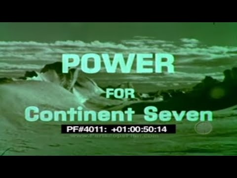 POWER FOR CONTINENT SEVEN  - US Navy , McMurdo Station , PM-3A 40110 2595