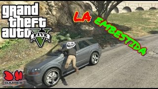 La Embestida - Funny Moments (GTA 5 - PS4) Gameplay